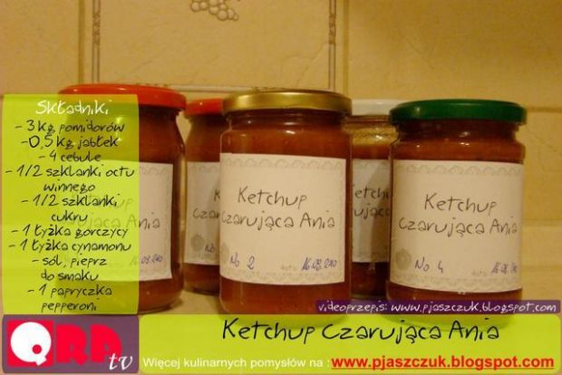 Ketchup Czarująca Ania