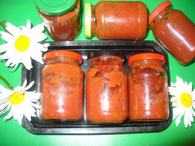 Ketchup z papryką i cukinią