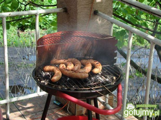 kiełbaski na grilla