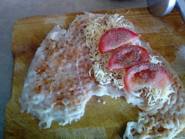 Kieszonka drobiowa z serem i pomidorem