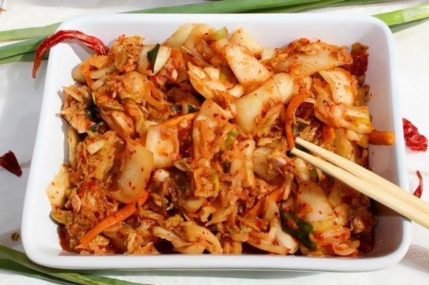 Kimchi - tradycyjne danie kuchni koreańskiej