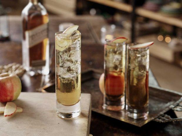 Klasyczny koktajl - Whisky Apple Soda