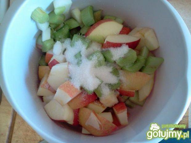 Klasyk:kompot z rabarbaru i jabłek
