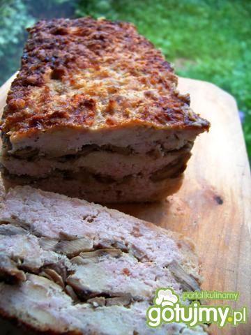 Klops z pieczarkami do chleba