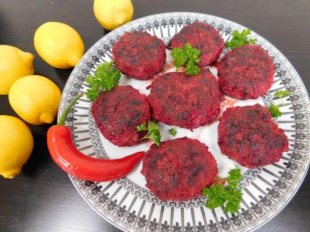Klopsy mięsno - buraczane