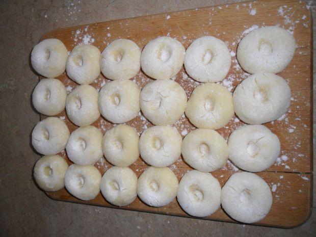 Kluski śląskie z cebulką