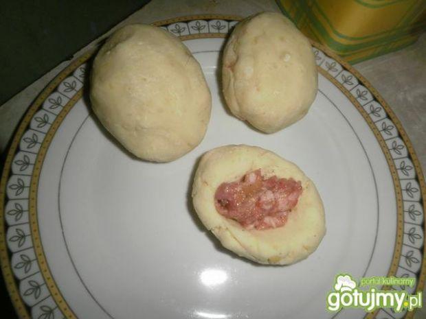 Kluski śląskie z mięsem
