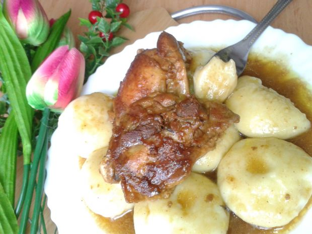 Kluski z młodych ziemniaków