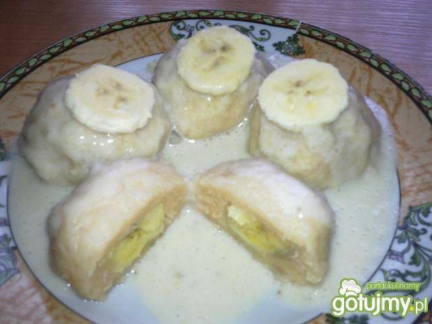 Knedle z bananami