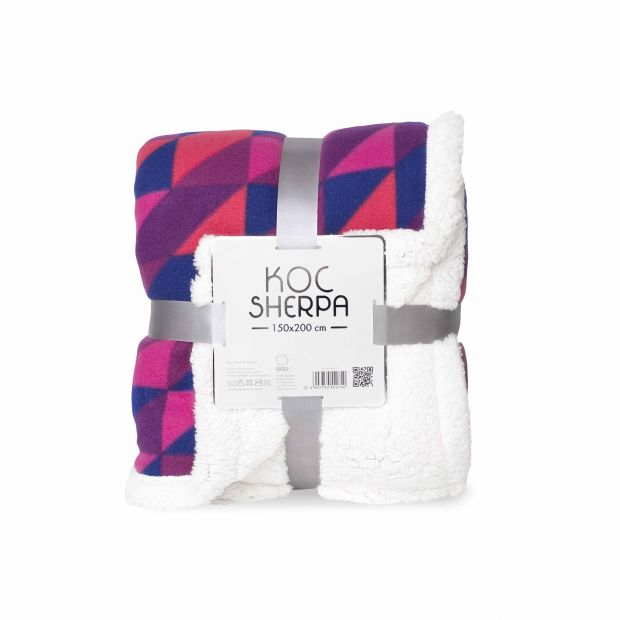 Nagroda listopad: Koc Sherpa 150x200 cm