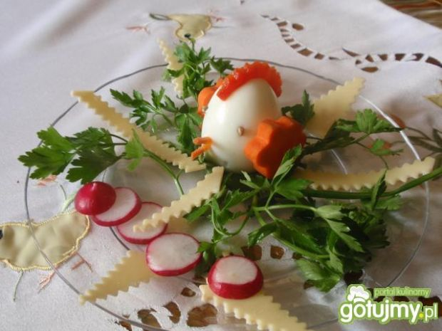 Kogucik z jajka