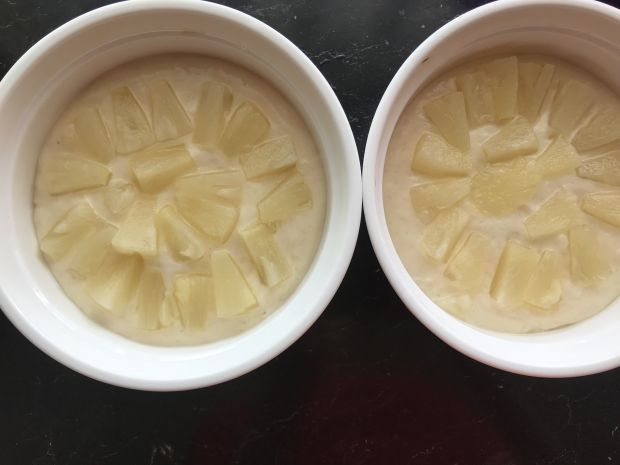 Kokilki cytrynowe z ananasem
