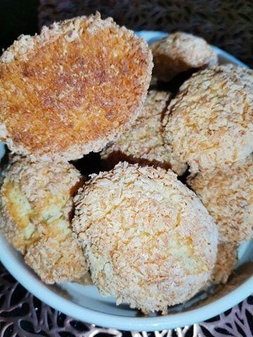 Kokosanki ciasteczka.