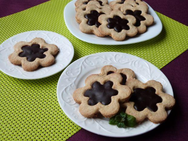 Kokosowe ciasteczka z czekoladą