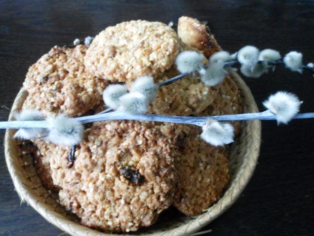 Kokosowe ciasteczka z musli