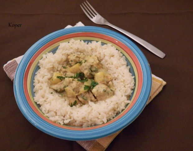 Kokosowe curry z indykiem i mango
