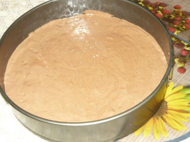 Kokosowiec na kakaowym biszkopcie
