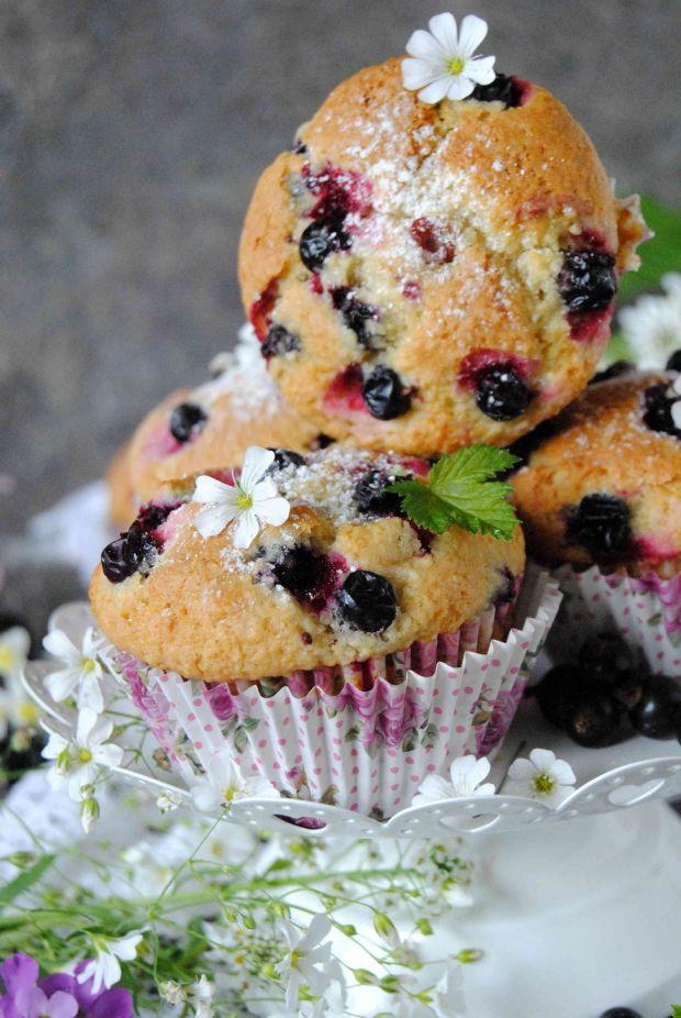 Kokosowo- porzeczkowe muffinki