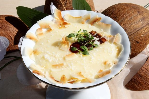 Kokosowo-waniliowy deser z budyniu