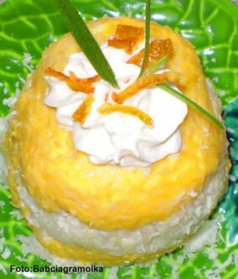 Kokosowy ryż z mango na deser