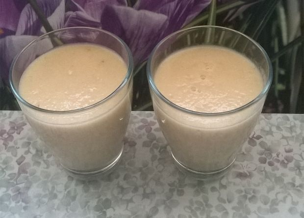 Koktaj mleczny gruszkowo - bananowy