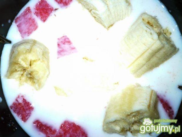 Koktajl arbuzowo-bananowy
