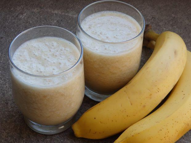 Koktajl bananowo-jabłkowy