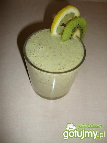 Koktajl kiwi-cytryna