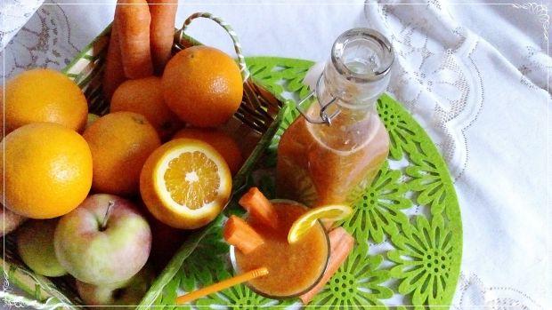 Koktajl marchewkowo-pomarańczowy z chia