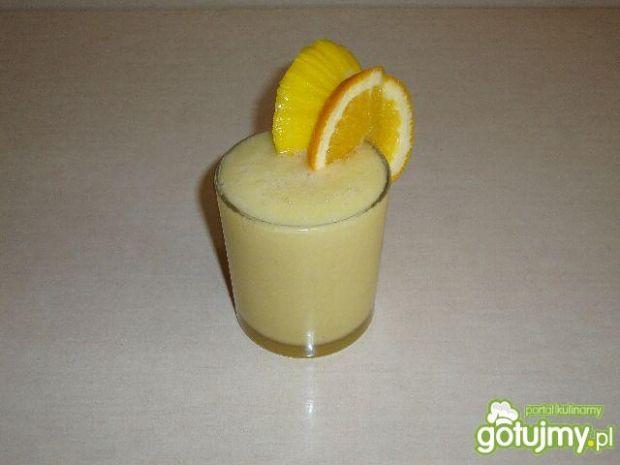 Koktajl melon-pomarańcz