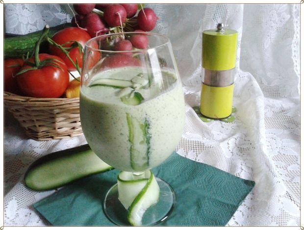 Koktajl ogórkowo-ziołowy