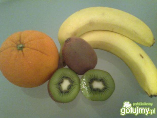 Koktajl owocowy.