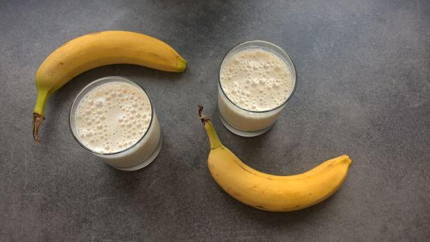 Koktajl owsiany z bananem