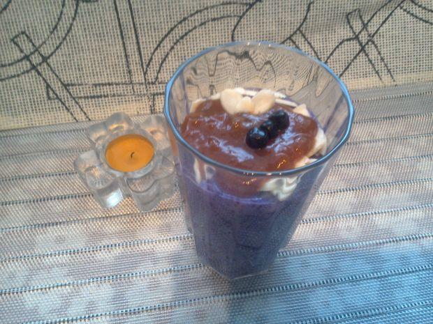 Koktajl ryżowo-jagodowy