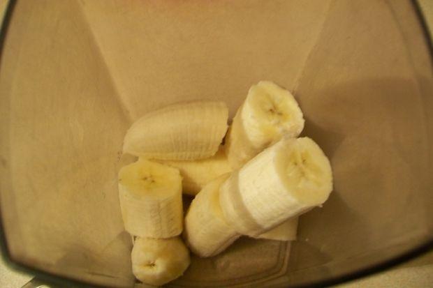 Koktajl szpinakowo-bananowy