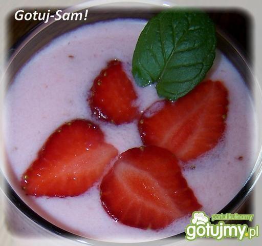 Koktajl truskawkowy jaNiny