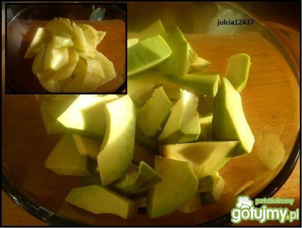 Koktajl z awokado, truskawką i jabłkiem