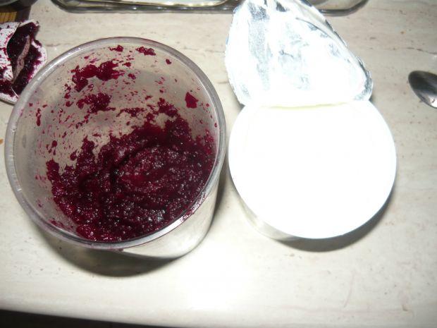 Koktajl  z buraka i jogurtu