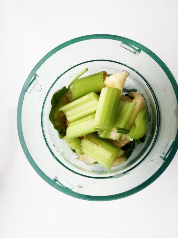 Koktajl zielony z gruszką