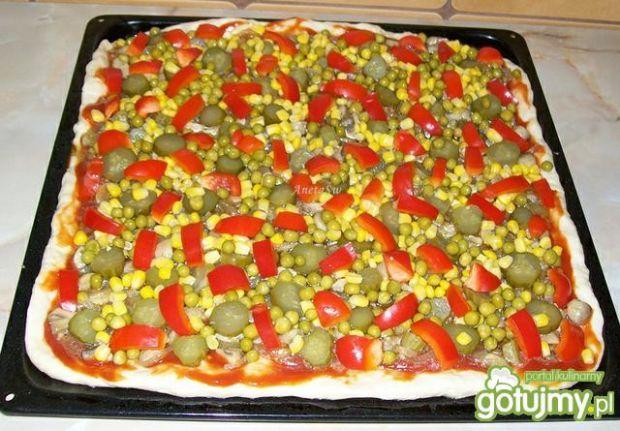 Kolorowa pizza wg AnetaŚw