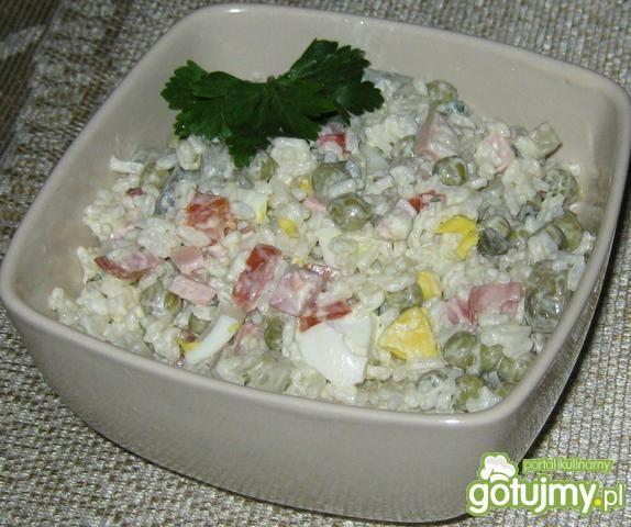 Kolorowa ryżowa