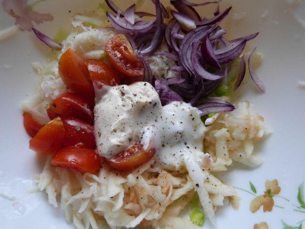 Kolorowa surówka do obiadu
