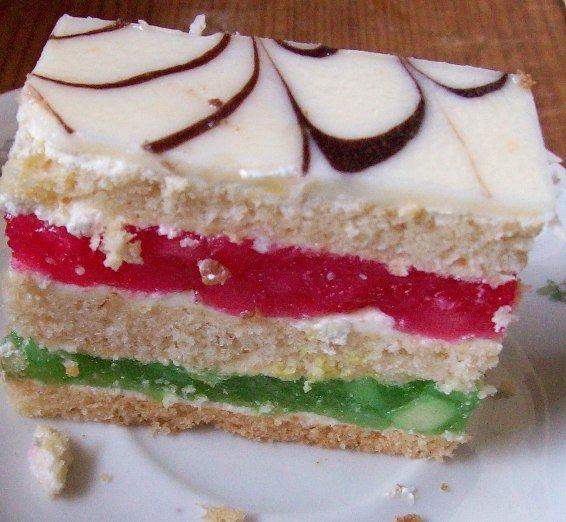 Kolorowe ciasto