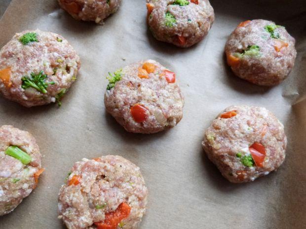Kolorowe kotleciki z piekarnika