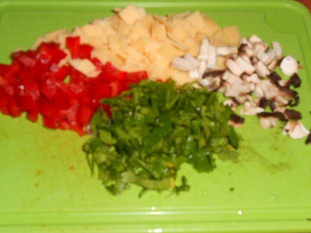 Kolorowe pulpeciki z drobiu