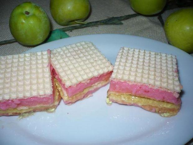 Kolorowe wafle