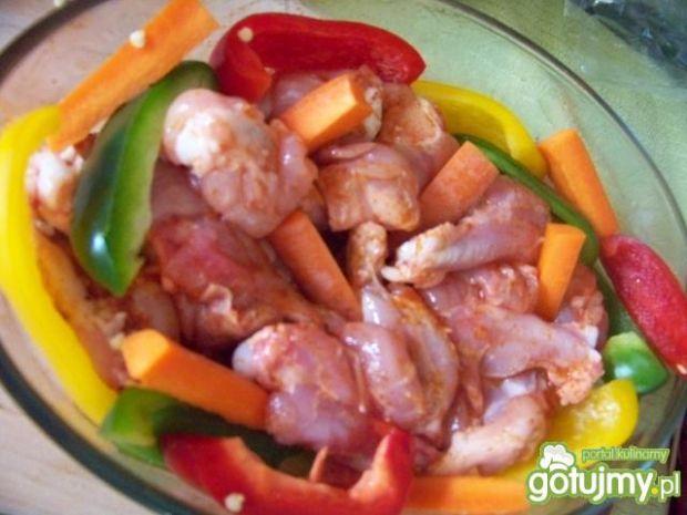 Kolorowy kurczak
