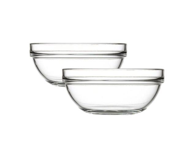 Nagroda główna sierpień: Zestaw dwóch szklanych misek