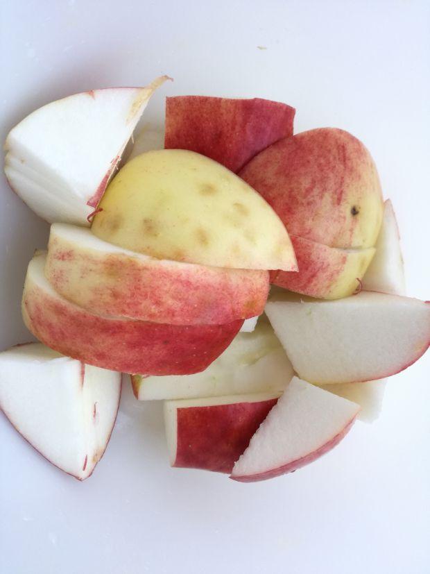 Kompot rabarbarowo jabłkowy