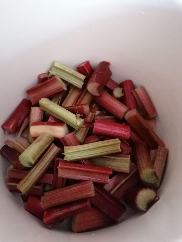 Kompot z rabarbaru i jablek